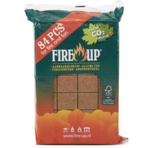 Fire Up aanmaakblokjes 84st