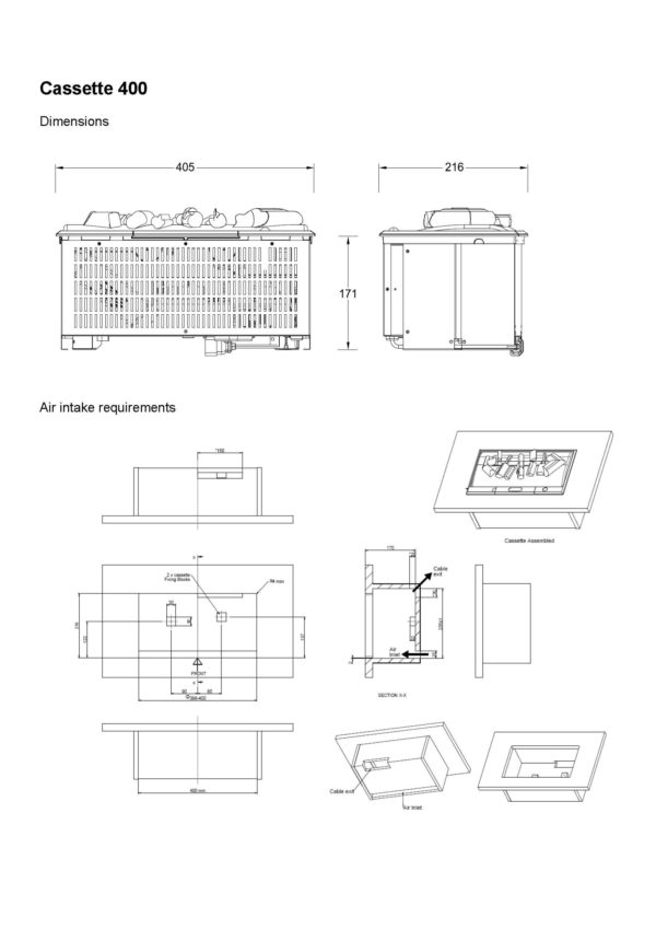 faber-cassette-400-opti-myst-lijntekening