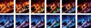 Dynamische Vlam Effecten